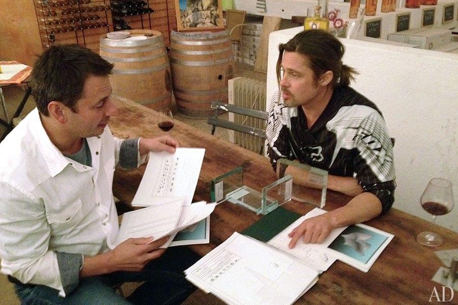 Brad Pitt s'attaque au design avec Franck Pollaro
