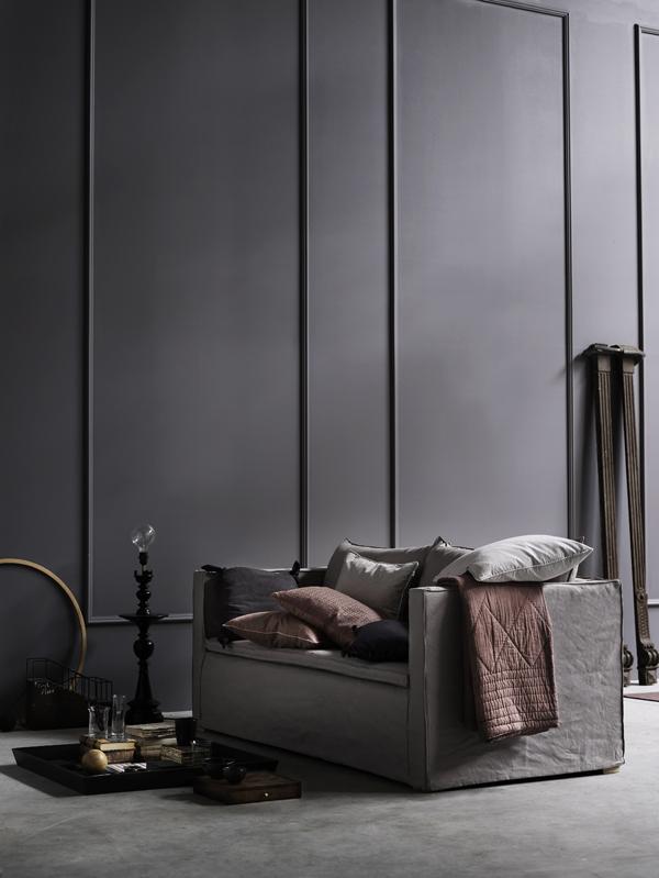 Idée pour une maison dans les tons gris