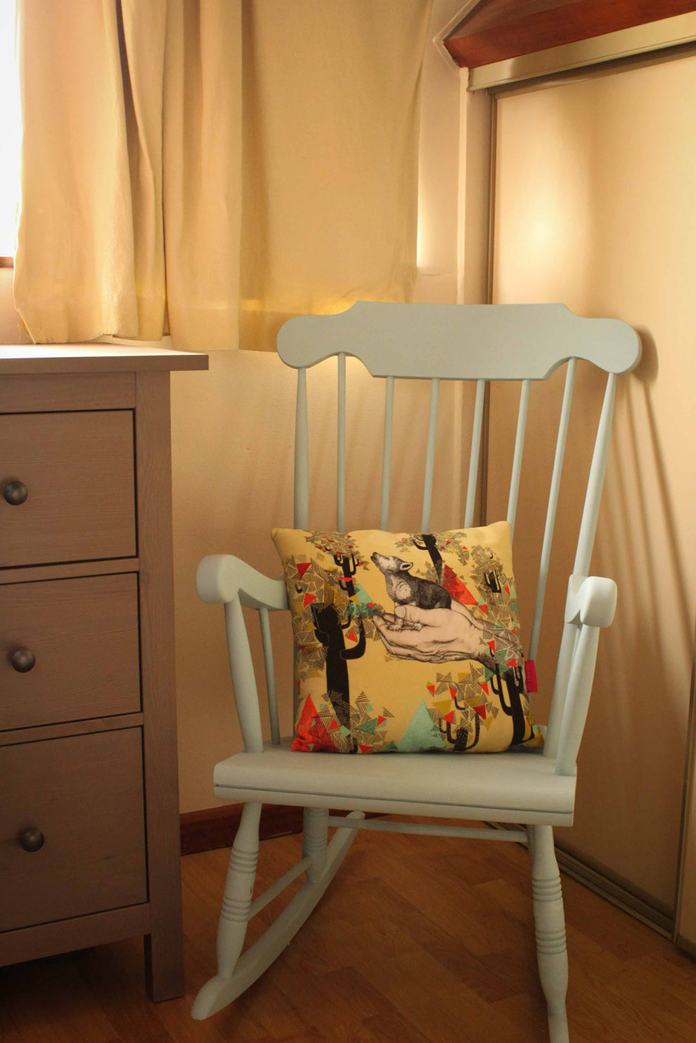 Mon nouvel ancien rocking chair ♥