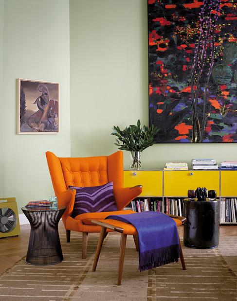 Le fauteuil Papa Bear de Hans J. Wegner