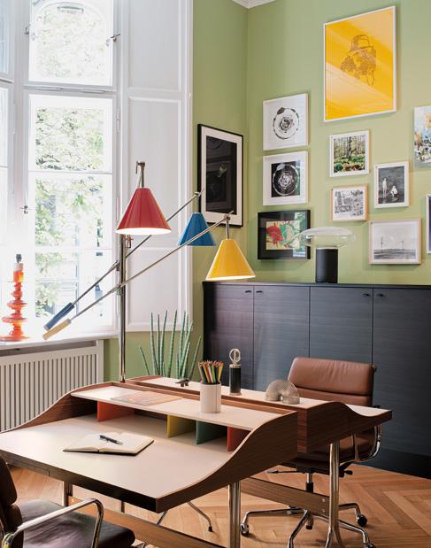 Subtil mélange de styles dans cet appartement berlinois