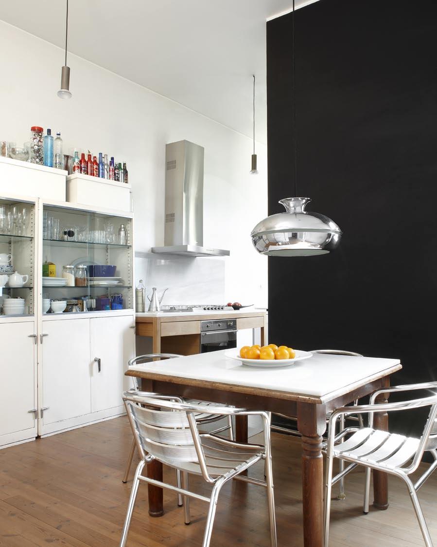La cuisine du loft
