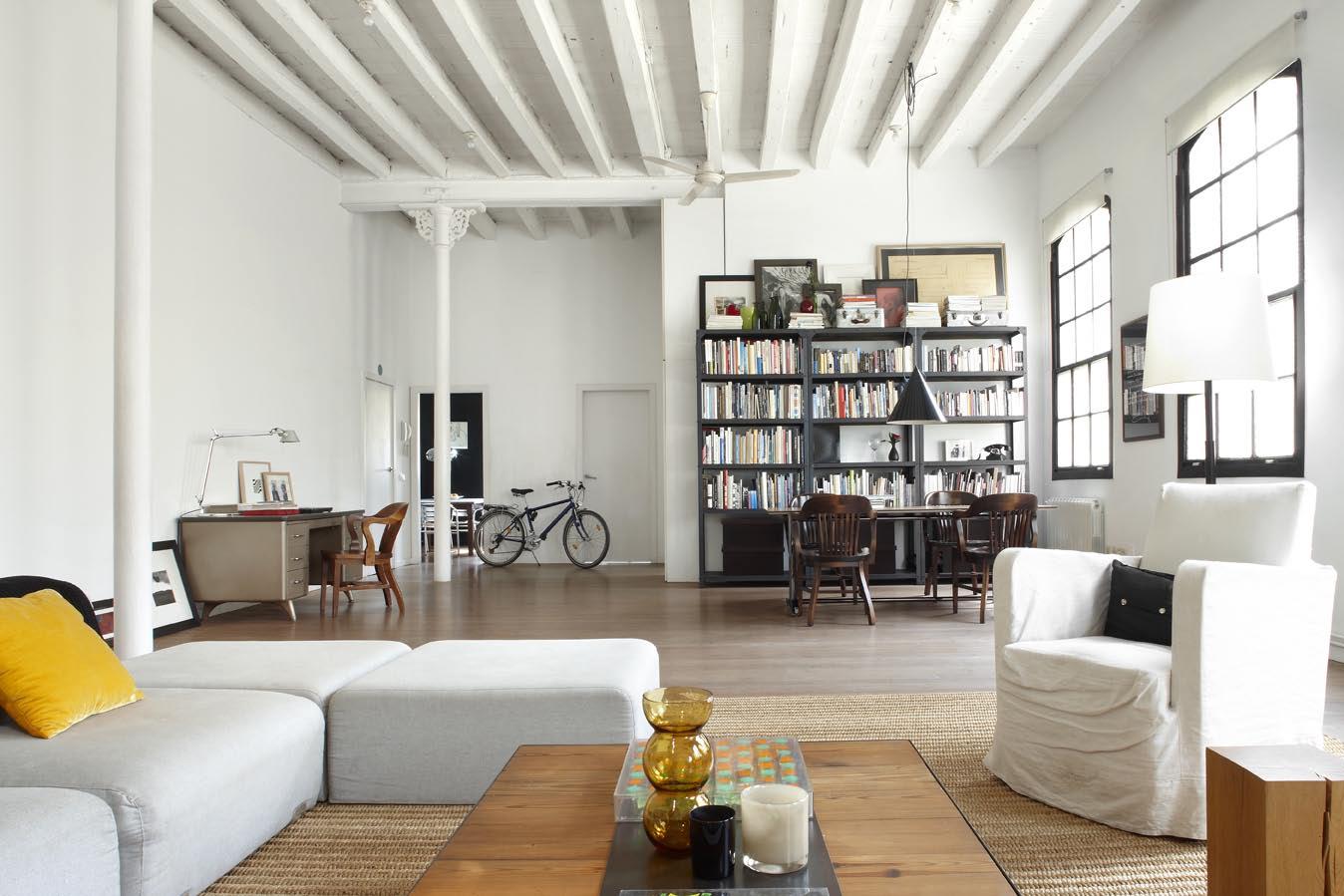 Un loft dans un ancien atelier de textiles frenchy fancy for E interior design
