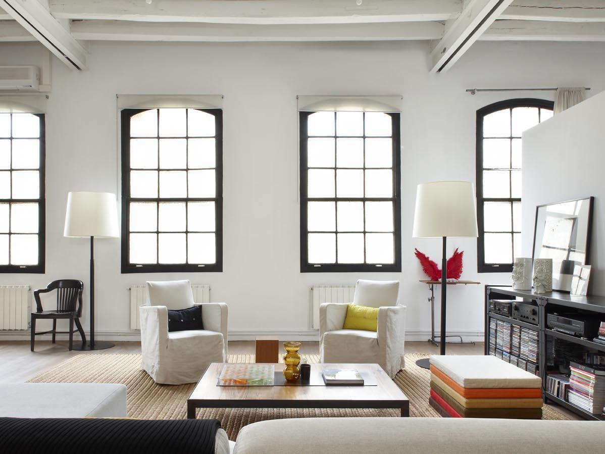 Un loft dans un ancien atelier de textiles frenchy fancy for Loft et atelier