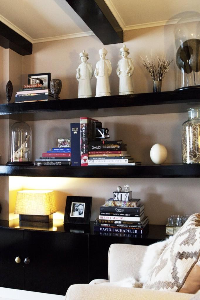 Bibliothèque et coin cosy