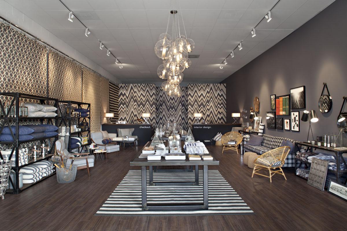 La boutique Haus interior
