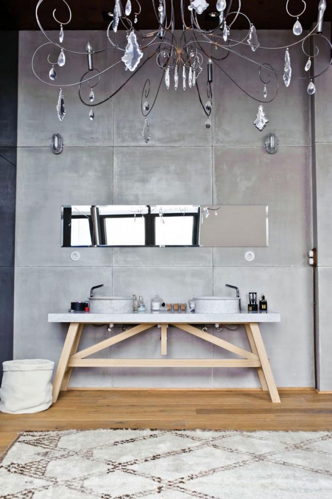 Le coin salle de bain au look minimaliste