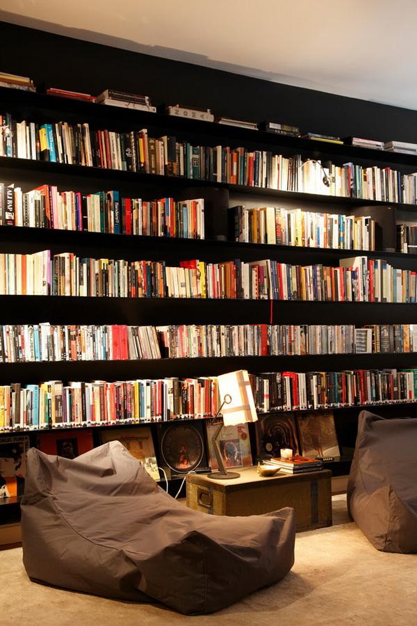 Une bibliothèque sur mesure