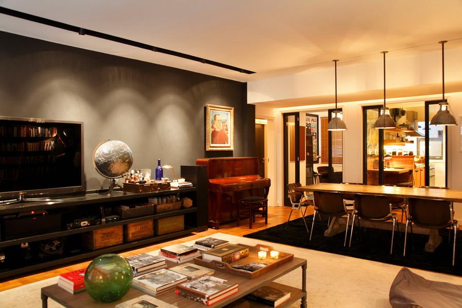 Un appartement tr s graphique frenchy fancy for Deco appartement usine