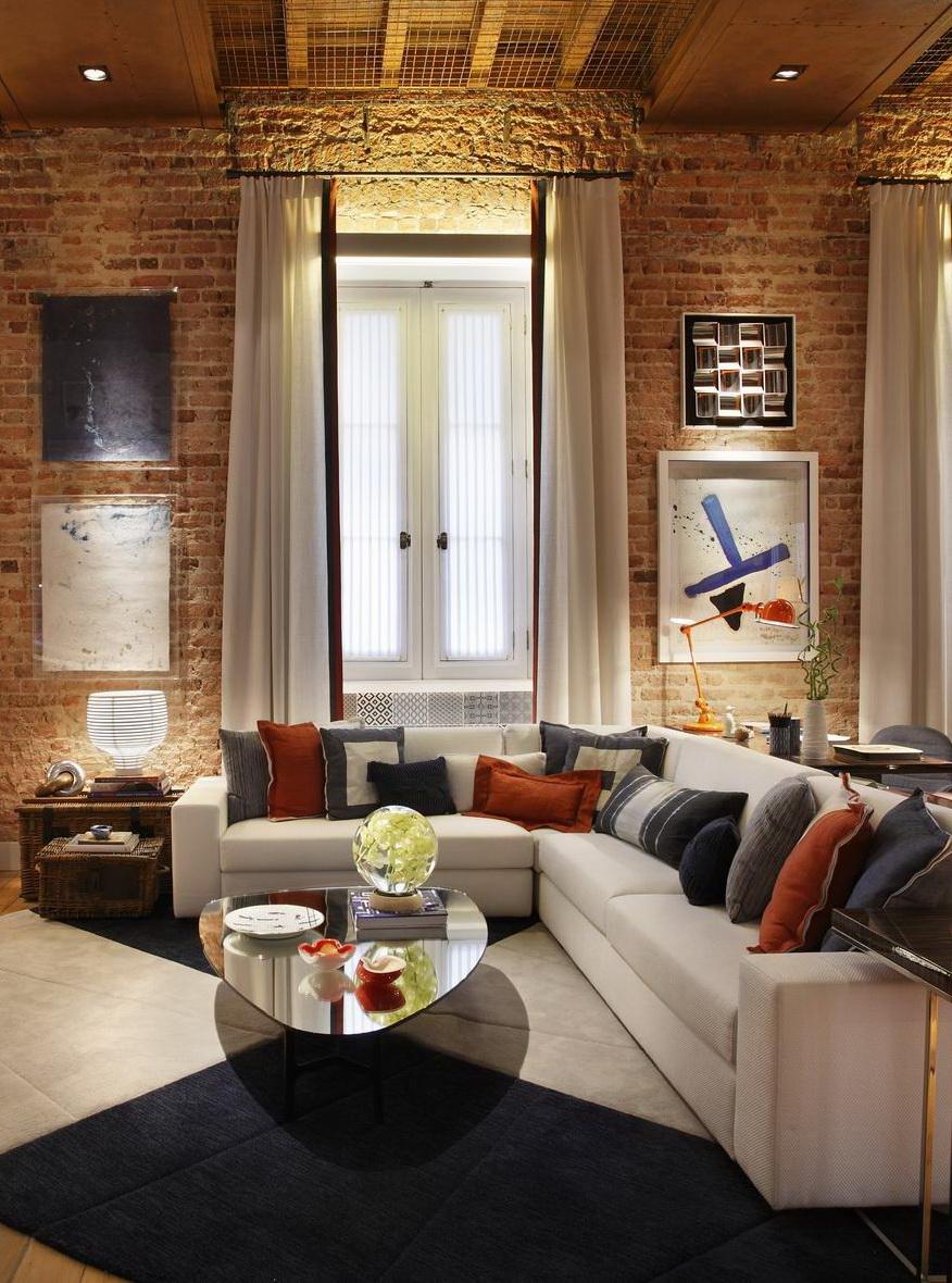 Meuble Tv Avec Des Briques Artzein Com # Fabriquer Un Meuble Tv Avec Des Briques