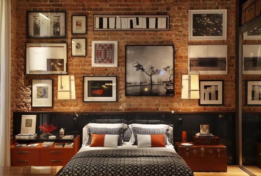 La chambre de l'appartement