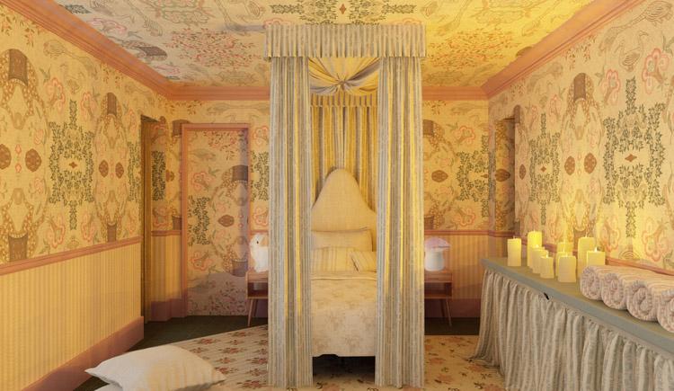 La chambre de princesse par Laura Gonzalez