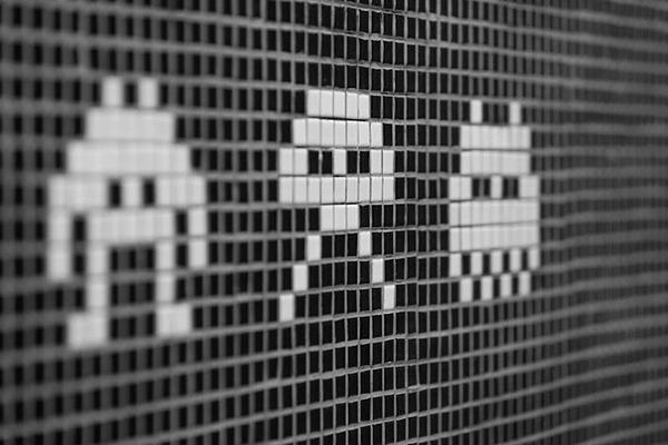 Du pixel art dans la déco