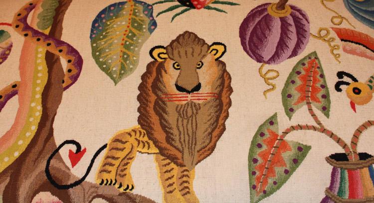 Tapisserie au Lion