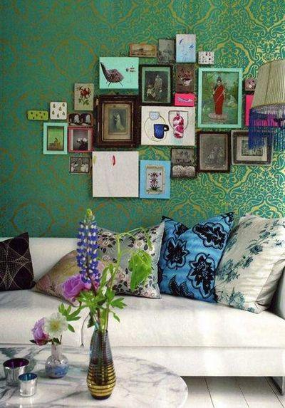 Du vert pour des styles d'intérieurs Bohème