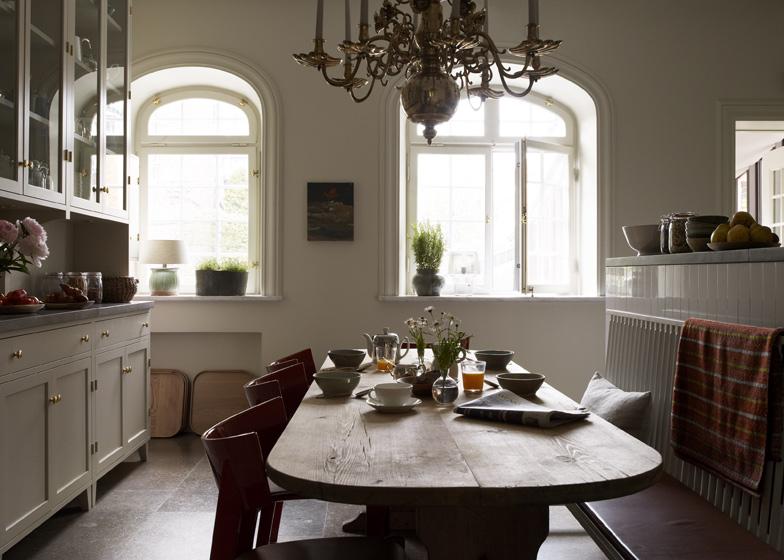 La cuisine et son style de maison de campagne