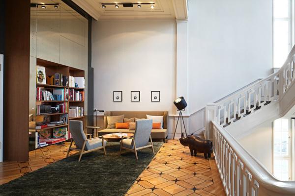 Le Das Stue Hotel par Patricia Urquiola