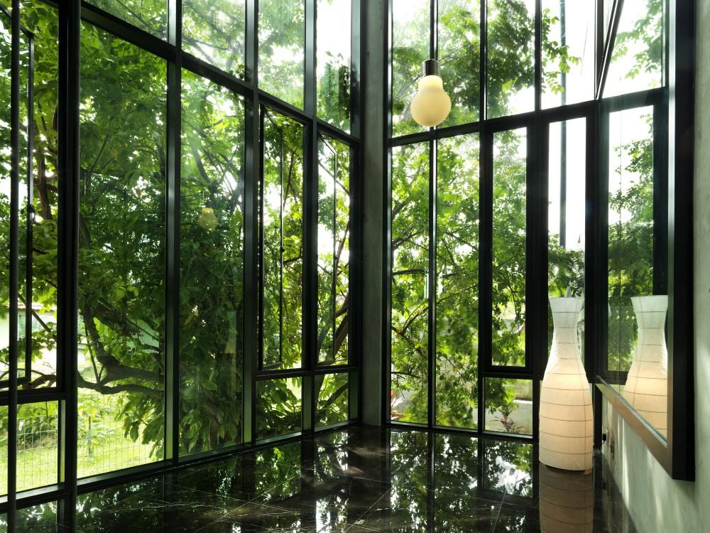 Baies vitrées style atelier d'artiste