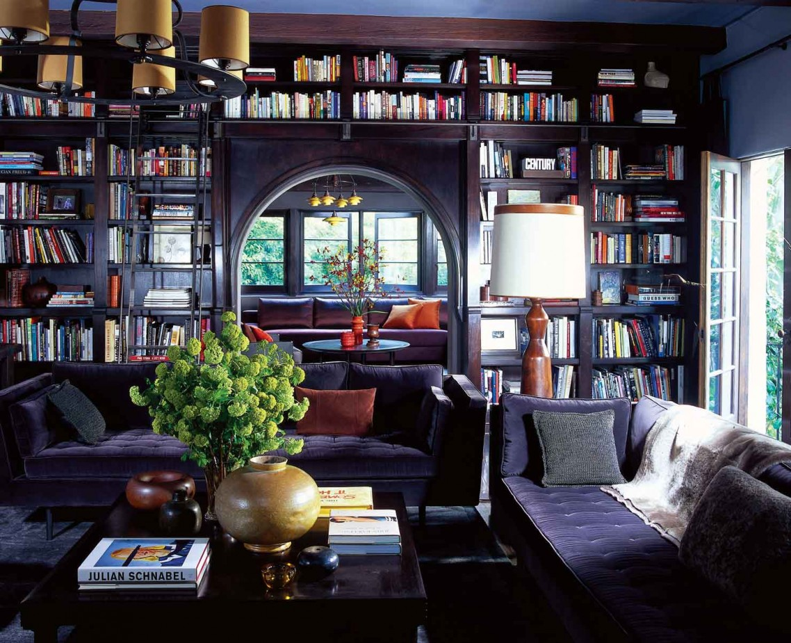Roman williams couple de la d co frenchy fancy for Best home library designs