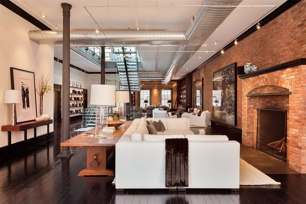 Un loft de luxe version xxl frenchy fancy for Interieur loft new york