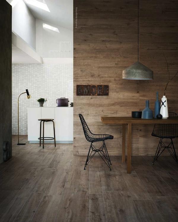 Du bois du sol au plafond