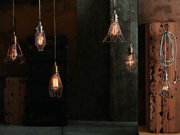 Des luminaires style industriel