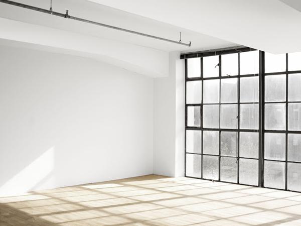 Baie vitrée style atelier d'artiste