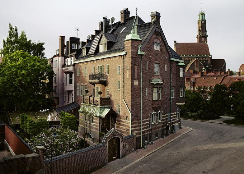 Maison construite en 1910 à  Stockholm