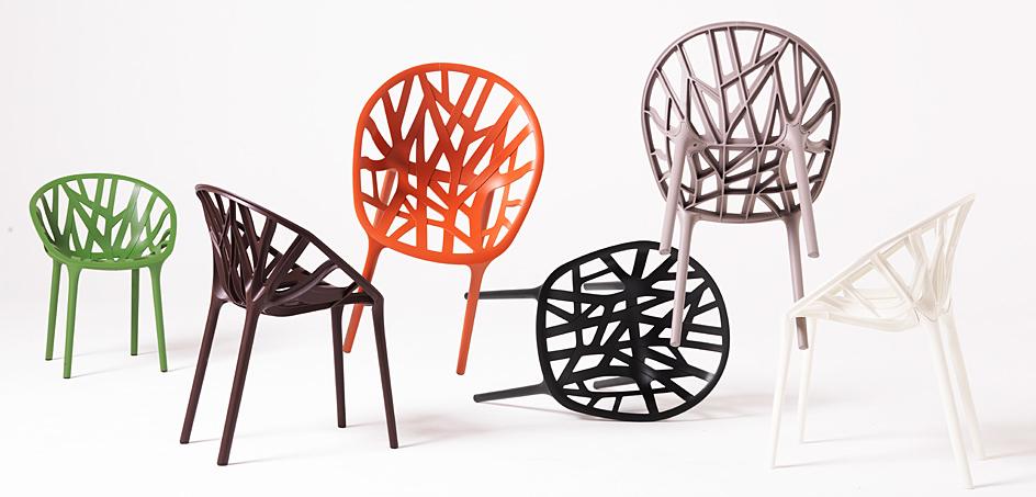 Chaise Vegetal par Ronan & Erwan Bouroullec pour Vitra