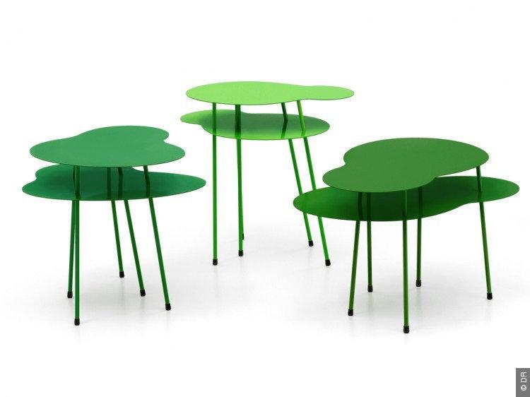Les tables basses Amazonas de Eero Koivisto