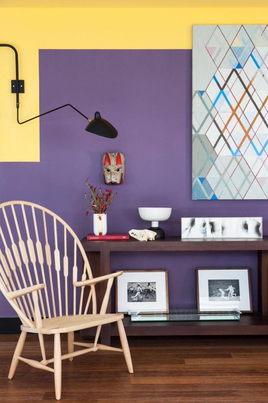 Peindre des murs de différentes couleurs