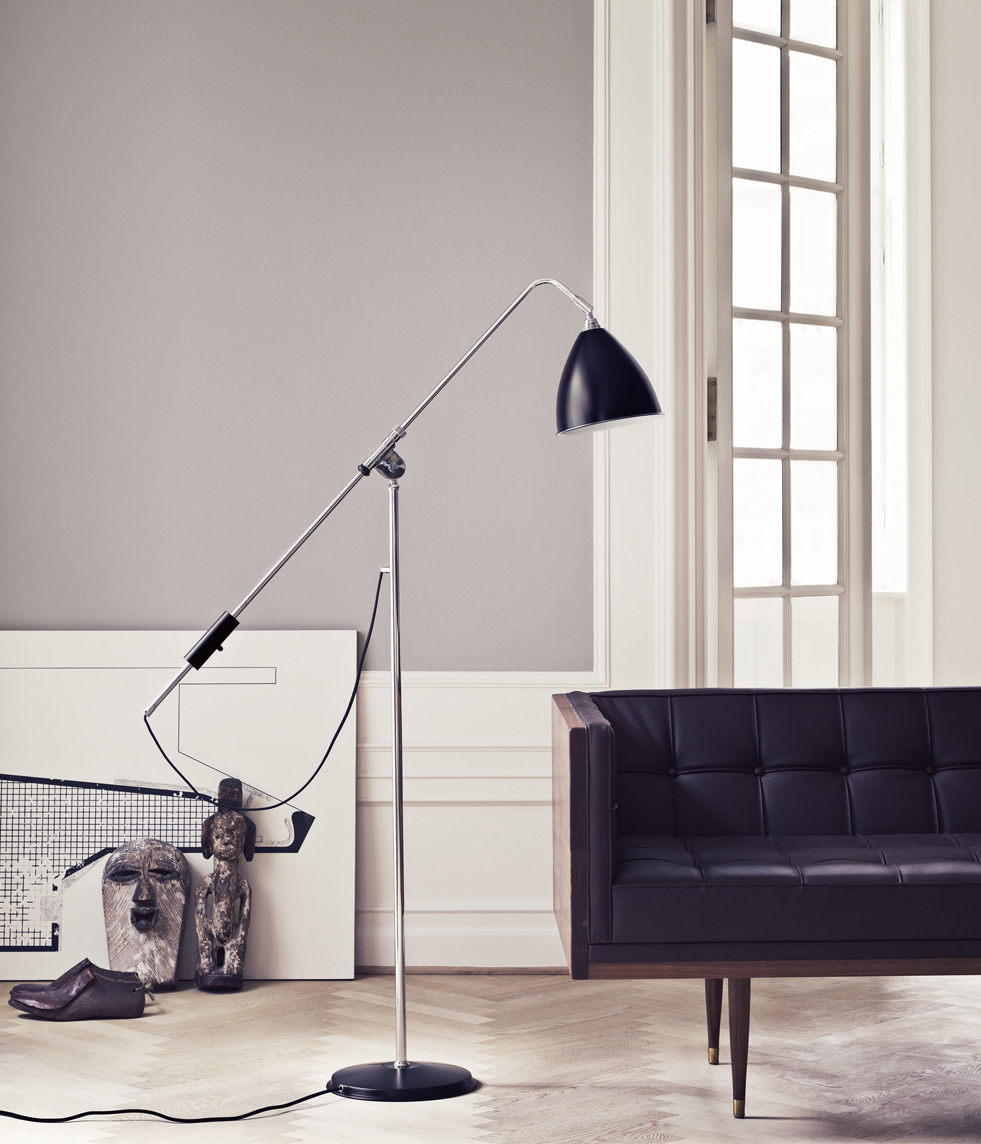 Idée appartement noir et blanc