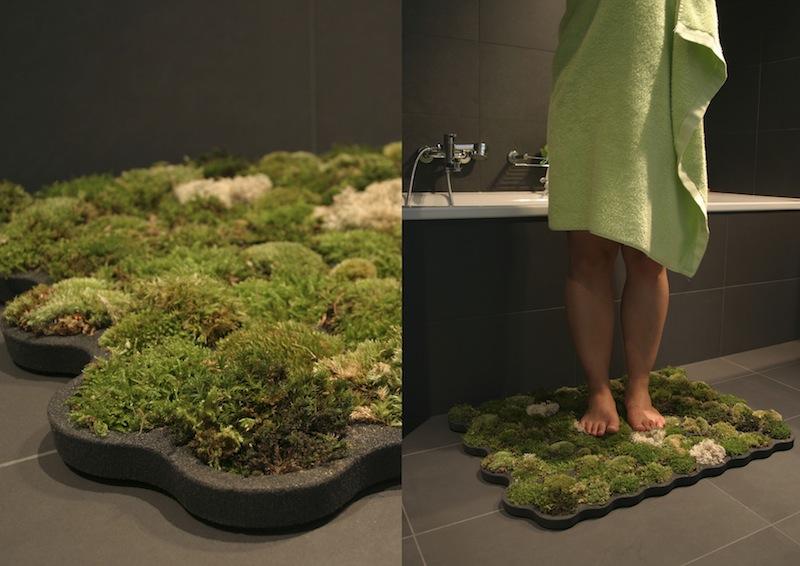 Tapis de bain en mousse végétale HoO design