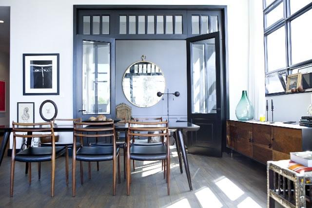 Un appartement au style chic et vintage brooklyn for Style appartement