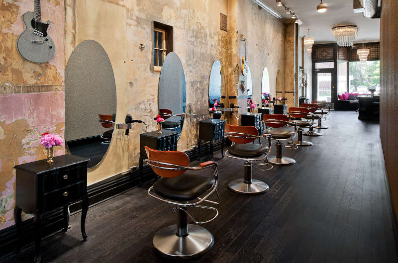 Un salon de coiffure au style Glam\'rock ! - Frenchy Fancy
