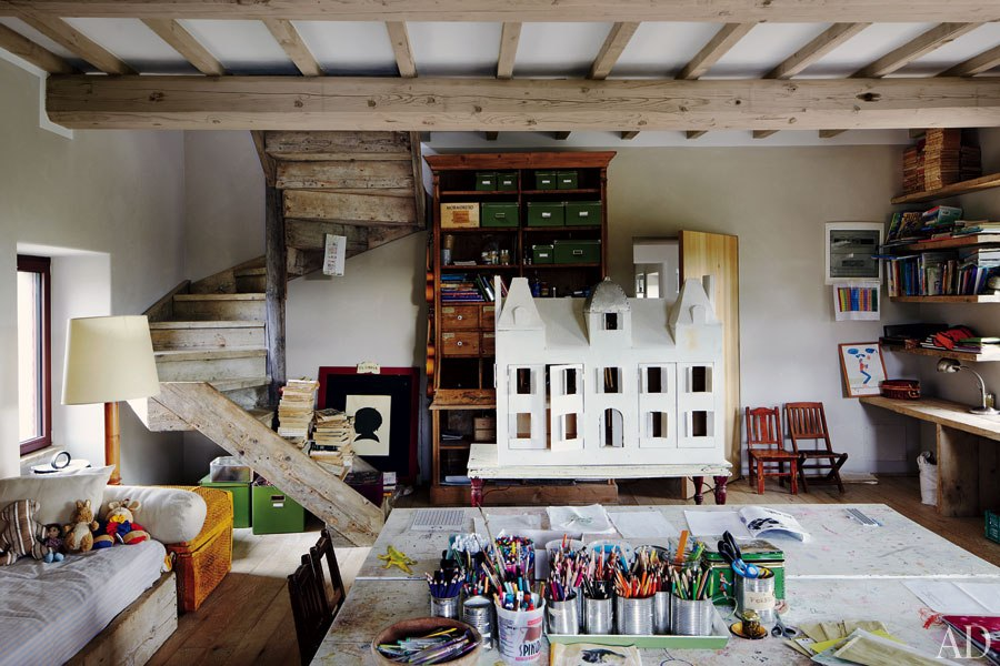Une maison au charme rustique en Italie - FrenchyFancy