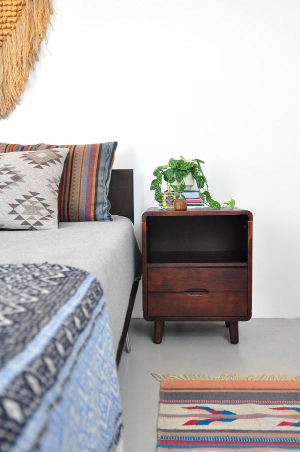 Linge de lit à motifs géométriques