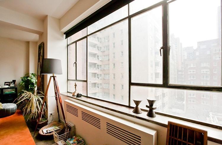 Détails de la décoration : la lampe trépied