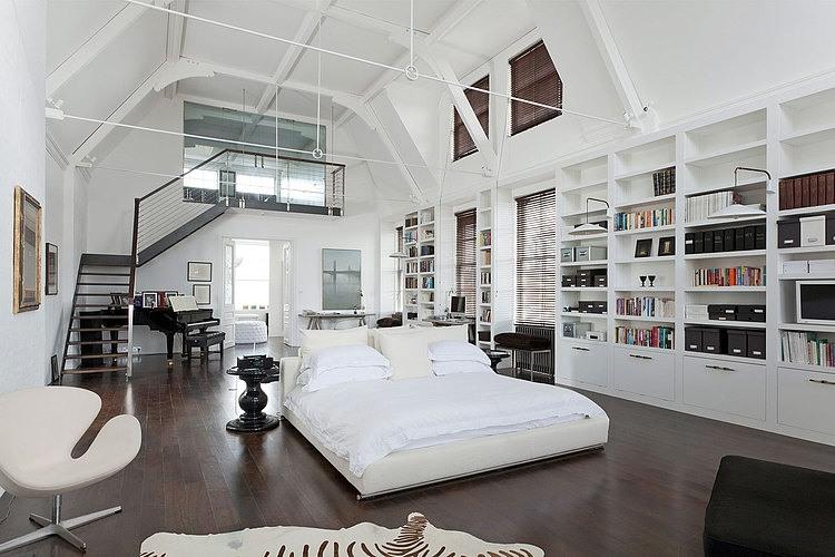 Chambre en open space