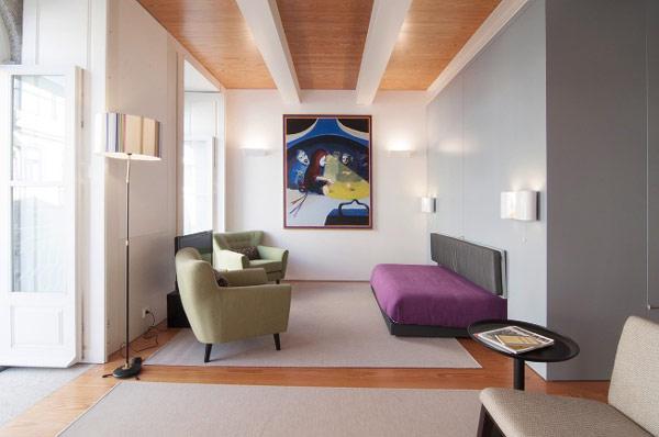 Architecture d 39 int rieur une boite dans la boite for Appartamenti design