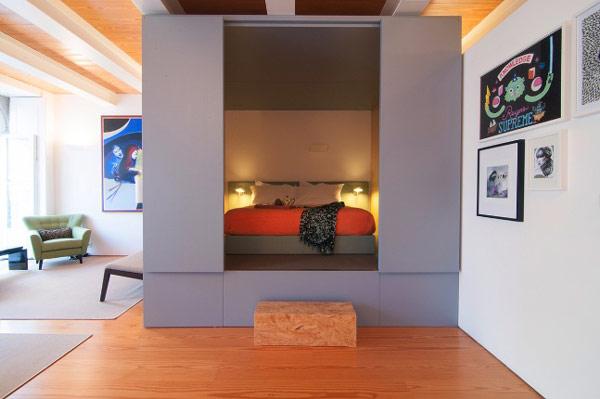 Architecture d 39 int rieur une boite dans la boite - Amenagement petits espaces ...