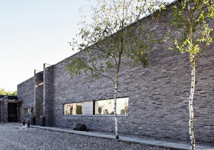 Maison d'architecte en briques