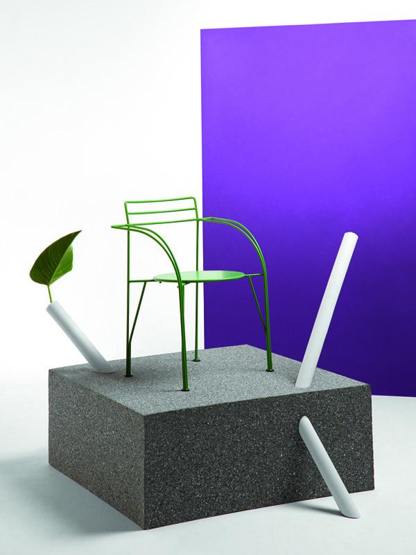 Chaise Lune d'Argent par Pascal Mourgue pour Fermob