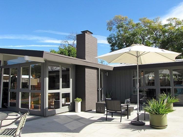 Maison Californie avec terrasse aménagée