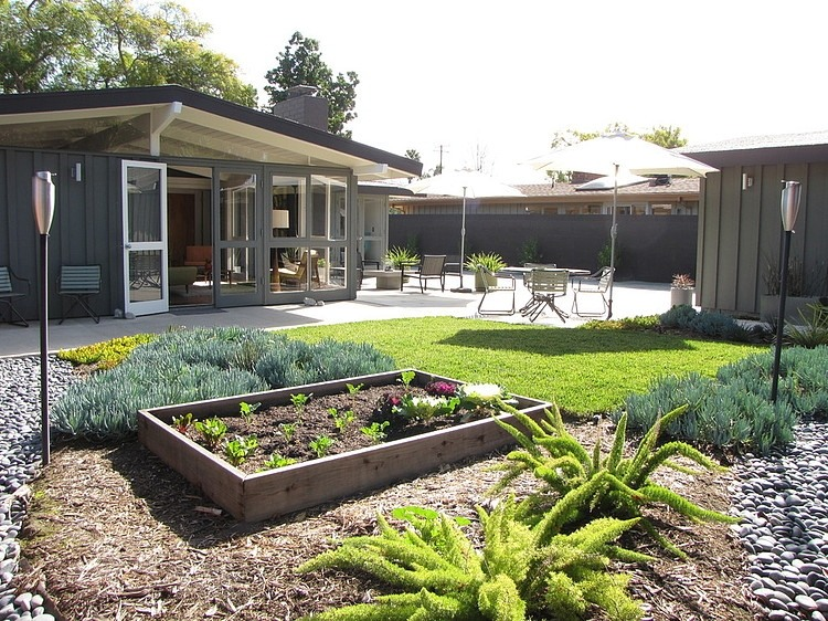 Maison avec terrasse aménagée