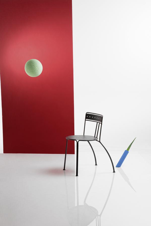 Chaise Palais Royal par Jean-Michel Wilmotte pour Fermob
