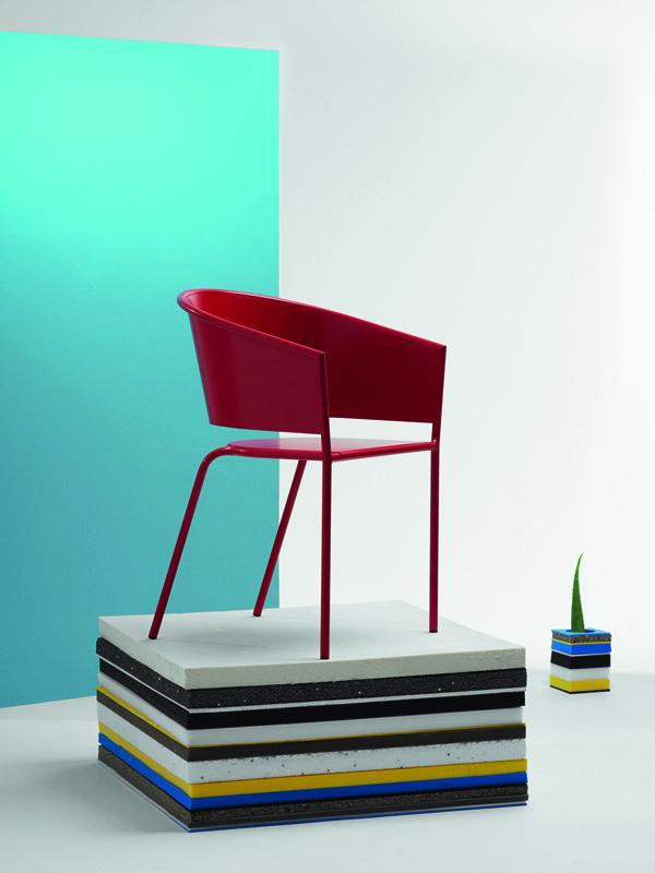 Mobilier coloré Christophe Pillet pour Fermob