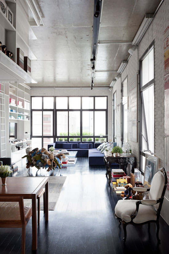 Loft style contemporain