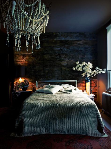Une chambre sombre comme l'ébène - Frenchyfancy