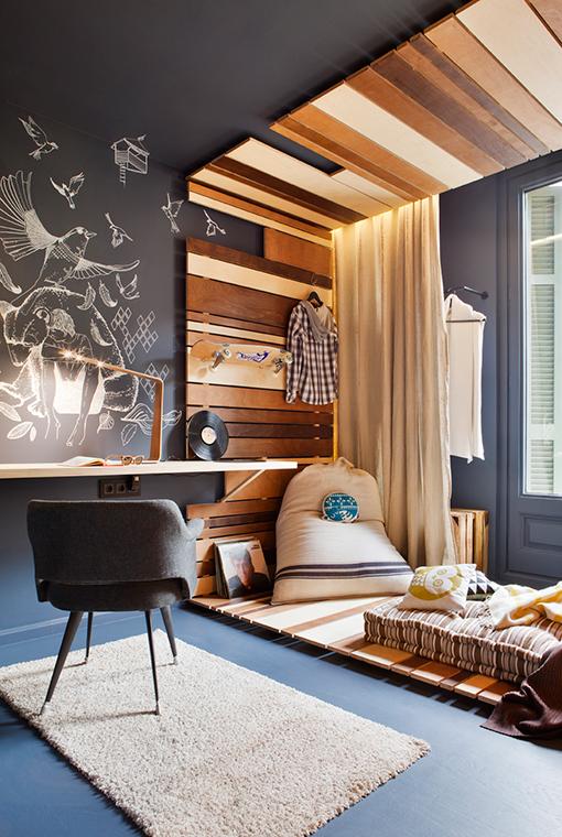 Une chambre d\'ado contemporaine - Frenchy Fancy